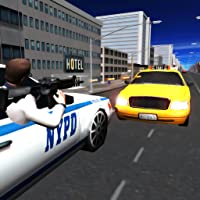 Crime City Police voiture Chase 3D