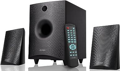 F&D F210X 2.1 Channel Multimedia Bluetooth Speakers (Black)