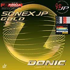 DONIC Sonex Jp Gold Table Tennis Rubber (Black)