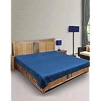 eretailer Waterproof PVC Mattress Protector (Blue)