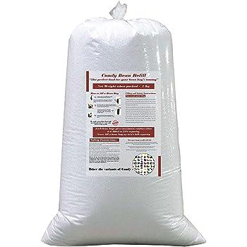 Comfy Bean Bags 1 Kg Beans Filler (White)