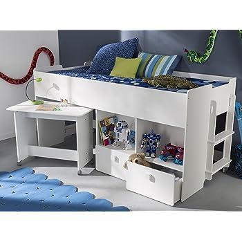 Kombi Bett Schreib Schlaf Kombi Etagenbett Schreibtisch Kinderzimmer