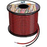 1,3 mm² 16 AWG siliconen elektrische draadhaak-up kabel in totaal 20 meter [10 meter zwart en 10 meter rood] zuurstofvrij bes