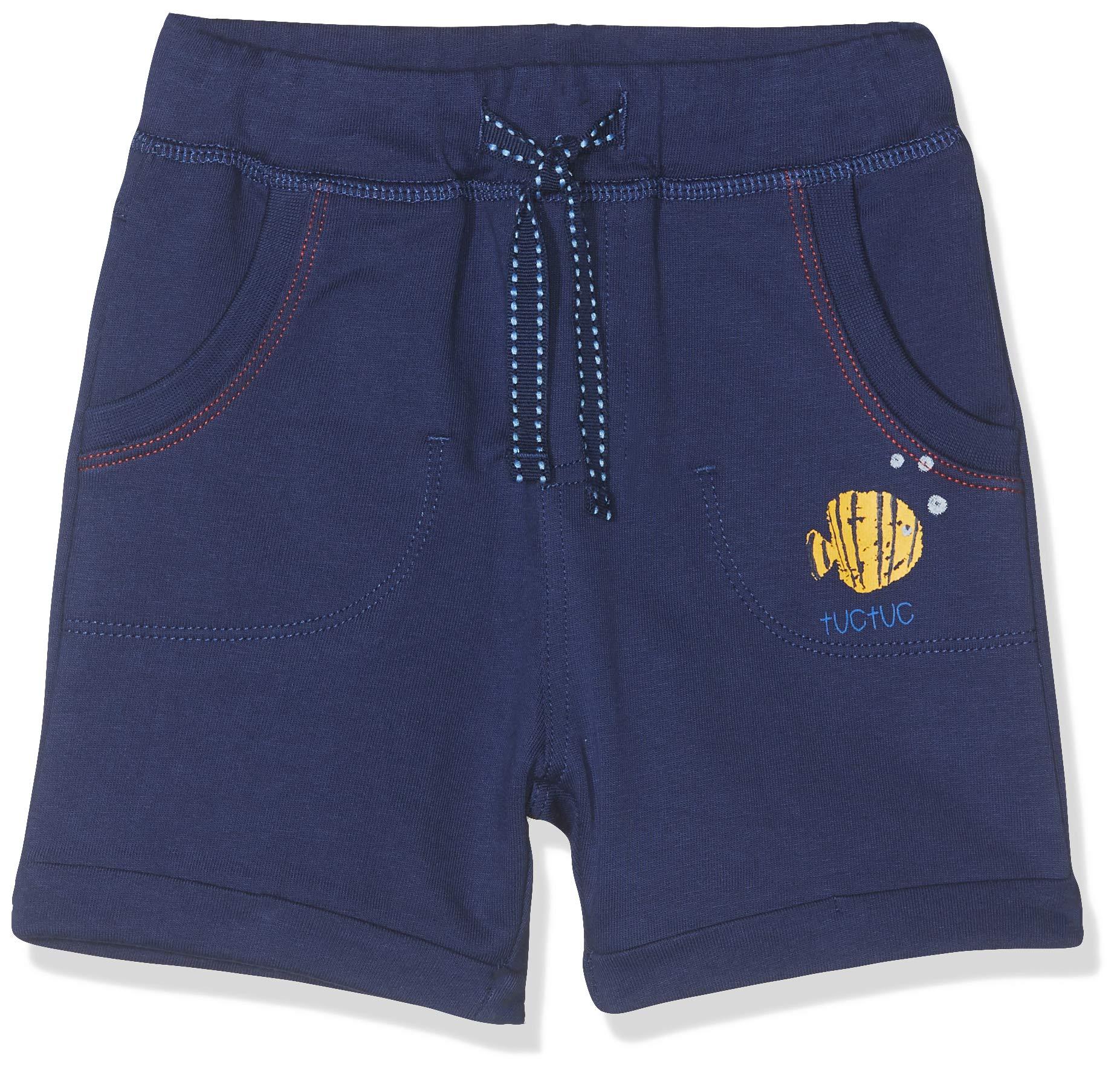 Tuc Tuc Bermuda Felpa Niño Arrecife de Coral Pantalones para Bebés 1