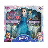 Forever Kidzz Beautiful Princess Doll with Accessories, Makeup Set Wardrobe Dresses for Girls- Multi Color