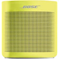 Bose SoundLink Colour Bluetooth Speaker II Bluetooth Speakers (Yellow Citron)