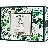 TeaTreasure Peace - Jasmine Green Tea for Weight Loss - Antioxidants Rich Calming and Soothing Tea - 1 TeaBox ( 18…