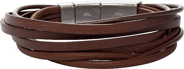 Fossil Herren-Armband JF86202040,  Länge 21 cm + 1,5 cm Verlängerung