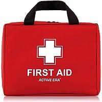 Erste Hilfe Set - 220-teiliges Premium Erste-Hilfe-Set - CE-Zertifiziert - enthält Sofort Kühlpacks,CPR Maske…