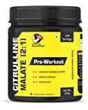 Advance MuscleMass Citrulline Malate 2:1 | Pure/Unflavoured | Preworkout Supplement| 200 gm / 0.44 lbs