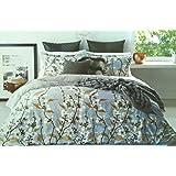 Festival Comforter 144Tc Print King 240x260cm 1Pc, Blue