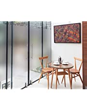 WallDesign Frosted Privacy Window Glass Film