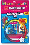 Cello ColourUp Celebration Kit - Mega Gift Pack|Colouring Kit for Kids|Combo Pack of Colours and Activity Book | Hobby…