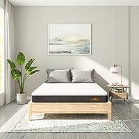 SleepyCat Plus Orthopedic Gel Memory Foam Mattress, Single Bed Size, Medium Soft (72x36x8 Inches)