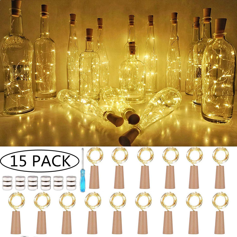 SiFar 20 LEDs 2M Flaschen-Licht