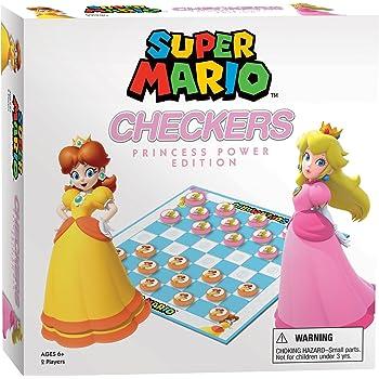 Super Mario Checkers & Tic Tac Toe Collector's Game
