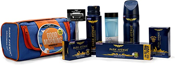 Park Avenue Good Grooming kit with free travel pouch special offer pack- For Men