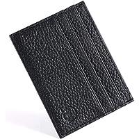 URAQT Credit Card Holder Wallet, RFID Blocking Leather Ultra Slim Wallet, Thin Minimalist Credit Card Case Card…