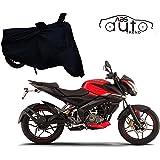 ABS AUTO TREND Bike Body Cover for Bajaj Pulsar NS 160 (Black)