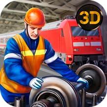 Railway Train Fixing Game: Workshop Train Repair Mechanic Garage | Train Station Fix and Drive Scrap Mechanic