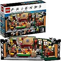 LEGO 21319 Ideas Central Perk avec Iconic Cafe Studio et 7 Figurines de Collection du 25e Anniversaire