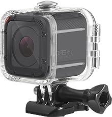 Deyard S-01 Wasserdichtes Gehäuse/Schutzhülle mit Halterung und Schraube für GoPro Hero5Session / Hero4Session