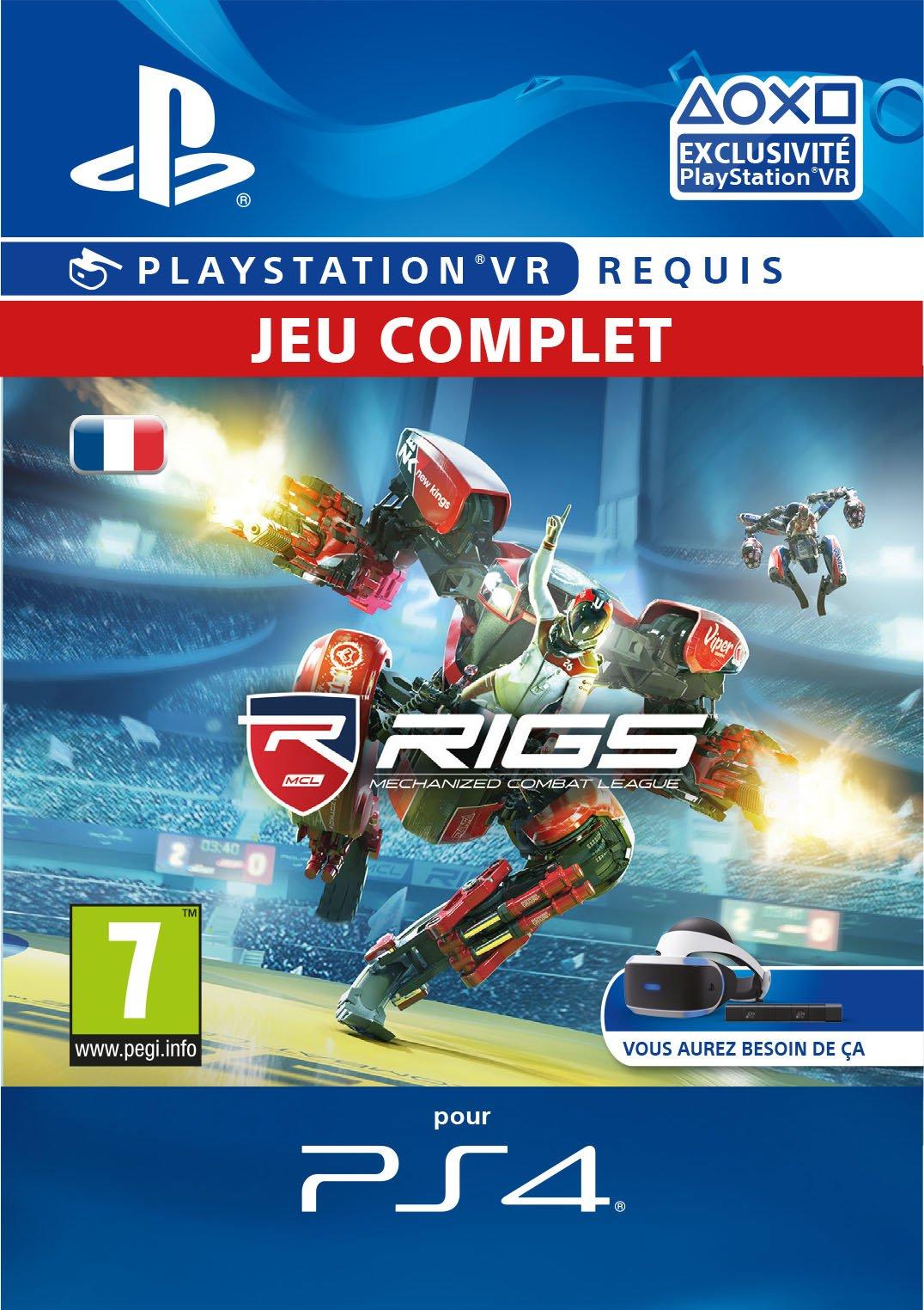 RIGS Mechanized Combat League VR [Code Jeu PSN – Compte français]