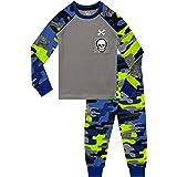 Harry Bear Pijamas para niños Ajuste Ceñido Camuflaje Cráneo