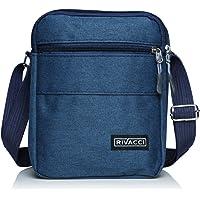 Rivacci Umhängetasche Schultertasche für Herren, Damen und Jungen, Kuriertasche aus Canvas, Herrentasche für Tablet…