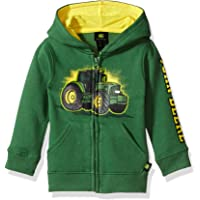 John Deere Baby Boys' Fleece Zip Hoody Hooded Sweatshirt