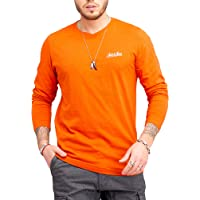 JACK & JONES Maglia Manica Lunga da Uomo Maglietta T-Shirt Shirt Top Oversize Streewear
