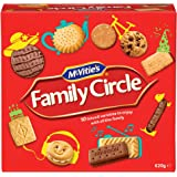 McVities Family Circle Biscuit Assortment - 1x620g