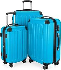 Hauptstadtkoffer - Spree - Hartschalen-Koffer Koffer Trolley Rollkoffer Reisekoffer Erweiterbar, 4 Rollen