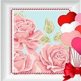 Romantische Fotocollage