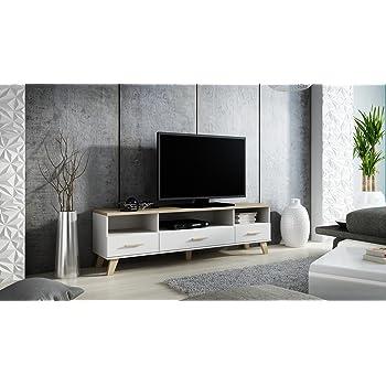 Tv Kommode Tv Lowboard Tv Schrank Lotta Amazon De Kuche Haushalt