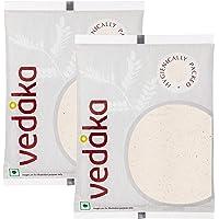 Amazon Brand - Vedaka Pink Rock Salt Powder, 1kg (pack of 2)