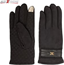 AllExtreme Women Winter Gloves Touch Screen Warm Gloves Outdoor Driving Gloves