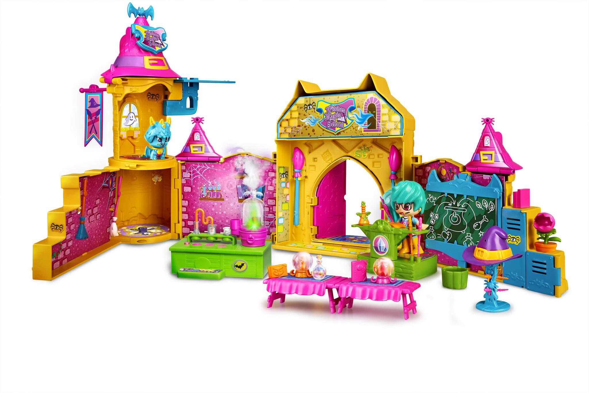 Pinypon-Escuela-de-Brujitas-Set-de-juguete-y-accesorios-con-1-figura-para-nios-y-nias-de-4-a-8-aos-Famosa-700015074