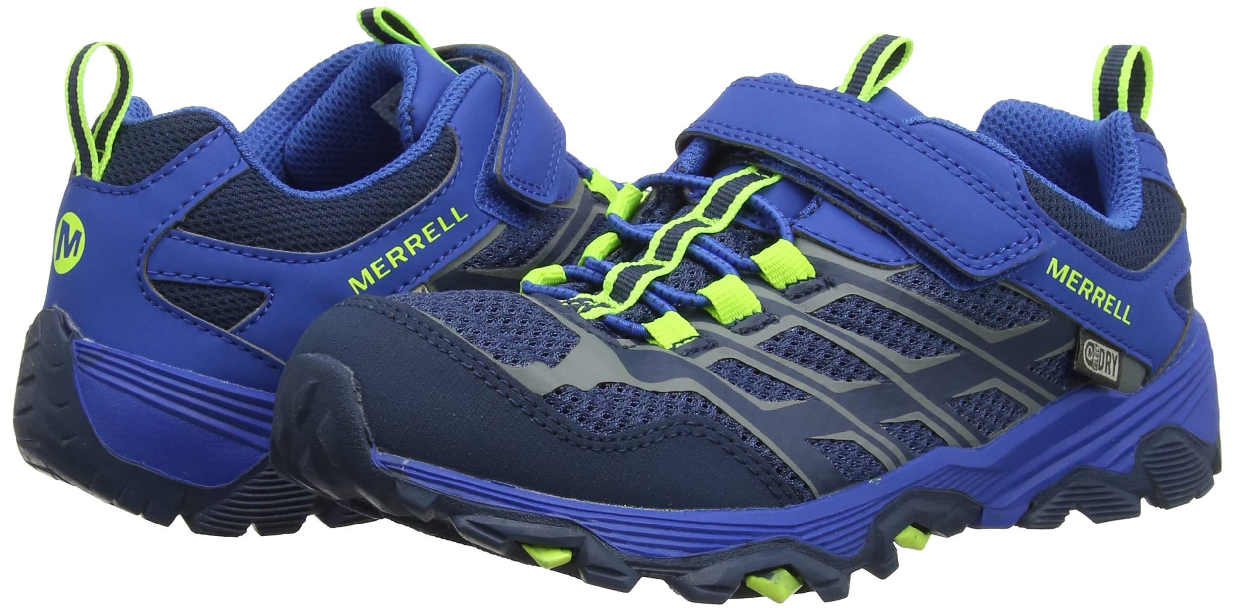 Merrell Boys M-Moab FST Low a/C WTRPF Rise Hiking Boots 5