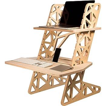 Helmm Standing Desk Converter S Desk Voro Adjustable Height