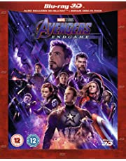 Avengers: Endgame 3D BLU RAY + 2D BLU RAY+ BONUS DISC (UK IMPORT ALL REGIONS ) 3 DISC SET