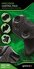 Gioteck PCPXB1-11-MU Precision Control Pack für Xbox One (Controller-Griffe, Daumengriffe, Trigger-Griffe) Schwarz