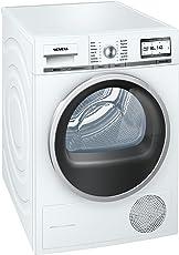Siemens iQ800 WT47Y701 iSensoric Premium-Wärmepumpentrockner/A++ / 8 kg/Weiß / Selbstreinigender Kondensator/SoftDry-Trommelsystem/TFT-Display