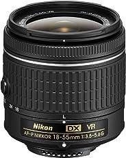 Nikon af-p DX Nikkor 18–55mm f/3.5–5.6G VR per 2013e più recenti modelli Nikon (Ricondizionato)