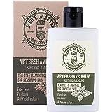 """Bálsamo Aftershave en Crema""""Árbol de té y mentol"""" para después del afeitado, para pieles sensibles con efecto refrescante. Si"""