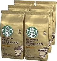 STARBUCKS BLONDE Espresso Roast Blonde Roast Ganze Kaffeebohnen, Milde Röstung, (6 x 200g)