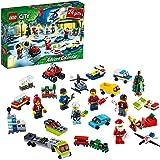 LEGO City adventkalender 60268 met City speelmat, superleuk cadeau voor de feestdagen voor kinderen (342 onderdelen)