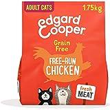 Edgard & Cooper Pienso Gatos Adultos Esterilizados o Activos Comida Seca Natural Sin Cereales 1.75kg Pollo Fresco, Naturalmen