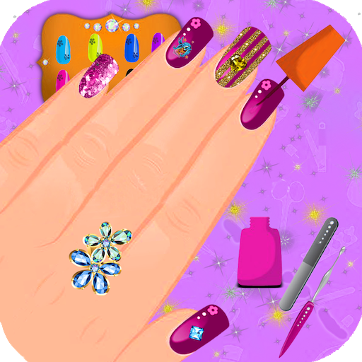 Nail Salon Princess Nail Makeover Games For Girls Amazon