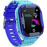 PTHTECHUS Reloj Inteligente Niño,Smartwatch para Niños IP67 con WiFi, LBS, Juegos, Llamada, SOS, Cámara, Chat de Voz, Modo de